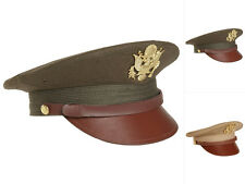 Mil-Tec US Offizier Visor Hat Offiziersmütze Mütze Hut Armeehut S-XL