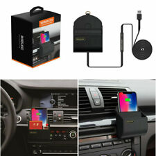 Car Phone Charger Accessories Wireless Charging Box Quick Charge for iPhone X