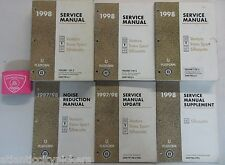1998 CHEVROLET VENTURE TRANS SPORT SILHOUETTE SERVICE SHOP REPAIR MANUAL SET