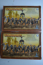GW Warhammer Fantasy aos Khemry Tomb Kings Tomb guard Skeletons x 20 miniatures