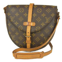 Auth LOUIS VUITTON M51233 Monogram Chantilly MM Crossbody Shoulder Bag 16161bkac