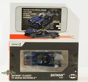 Hot wheels id Series 2 Batman Classic Batmobile blau metallic 1:64 OVP