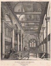 St. John's Parish Church, Hull. Proposed alterations; Christr G. Wray Archt 1872