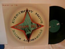 "Dream Beat"" Everybody Move""maxi12""or.fr.wotre music/ramdam factory:120117de1995."