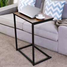 Side End Table C Shaped Sofa Coffee Bedside Cabinet Wooden Bedroom Living Room