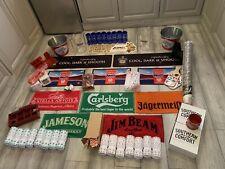 More details for home bar huge starter kit gift set mancave/garden bar