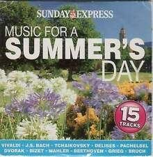 MUSIC FOR A SUMMER'S DAY - PROMO CD: VIVALDI BACH TCHAIKOVSKY DELIBES PACHELBEL