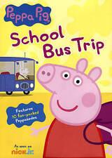 Peppa Pig: School Bus Trip DVD Scholastic Book
