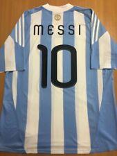 Messi 10. Argentina Home football shirt 2010 - 2011. Size: XL. Adidas camiseta