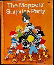 THE MOPPETS' SURPRISE PARTY ~ Vintage 1950's Children's Wonder Book