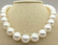 """New 11-12MM AAA+ South Sea white pearl necklace 18"""""""