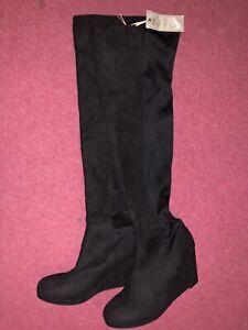 Tesco Black Boots for Women | eBay
