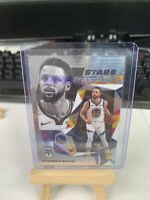 """2019-20 STEPHEN CURRY, GOLDEN STATE WARRIORS, MOSAIC """"STARE MASTERS"""" INSERT#15💎"""