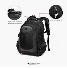 YESO Laptop Backpack Men's Travel Bags Multifunction Rucksack Waterproof Oxford