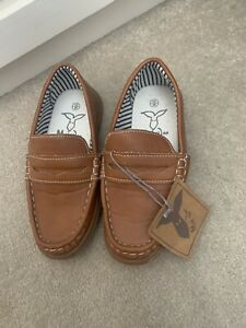 Boys Leather Loafers Size 12