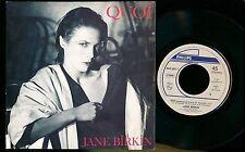 "JANE BIRKIN 45 TOURS 7"" BELGIUM QUOI (DE SERGE GAINSBOURG)"