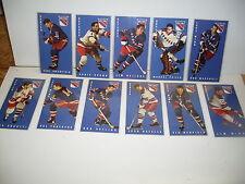 1994 PARKHURST TALL BOY CARDS NEW YORK RANGERS 11 DIFFERENT