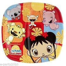 NI HAO KAI-LAN LARGE PAPER POCKET PLATES (8) ~ Birthday Party Supplies Luncheon