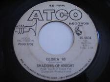 The Shadows of Knight Gloria '69 45rpm VG+ GARAGE PROMO