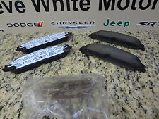 New Challenger Charger  300 BR6 Mopar Front Disc Brake Pad Pads Kit Genuine Oem