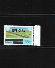 Nevis 1980 O7 MNH 55c Official Double overprinted New runway at golden rock