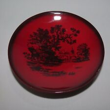 Royal Doulton old Flambe Woodcut dish English Scenes