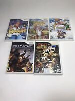 Nintendo Wii Games Lot of 6 Boogie Chicken Shoot GI jow Club Penguin Secret