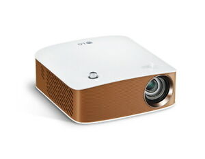 LG PH130 Portable Projector HD 130Ansi 30in WiFi WiDi Bluetooth 460g 2.5Hour-Use