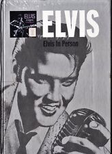 ELVIS PRESLEY: ELVIS IN PERSON. Libro con CD de coleccionable de RBA. 2009.