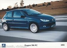 PRESS - FOTO/PHOTO/PICTURE - PEUGEOT 206 RC 2002
