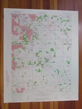 Beech Grove Indiana 1961 Original Vintage USGS Topo Map
