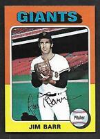 1975 Topps Mini #107 Jim Barr Giants NICE NM-MT+