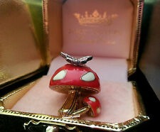JUICY COUTURE Red Mushroom Toadstool Charm: NWT