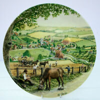 Royal Doulton Bone China Plate Journey Through the Village Milnsey Beck