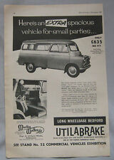 1960 Bedford Utilabrake Original advert