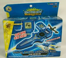 BeyBlade Burst B-93 Digital Sword Launcher Blue Takara Tomy US Seller New