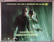 Cinema Poster: MATRIX REVOLUTIONS 2003 (Quad) Keanu Reeves Carrie-Anne Moss