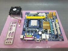 Gigabyte GA-MA74GM-S2 AMD Micro ATX Socket AM2 Motherboard w/ IO Shield Heatsink