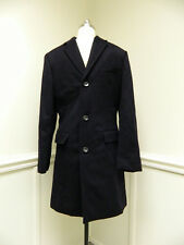 JCrew $470 Ludlow Wool Cashmere blend Topcoat 40S Navy Blue F5546 Thinsulate