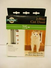 PetSafe Small 2-Way Locking Cat Door for Small Cats from 1-15lbs