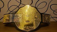 WCW Big Gold World Heavyweight Wrestling Championship Belt