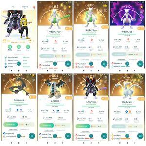 Pokémon Account Go level 45 | 262 Shiny| 575 Legendary(Rare)| 629,4*Pokemon