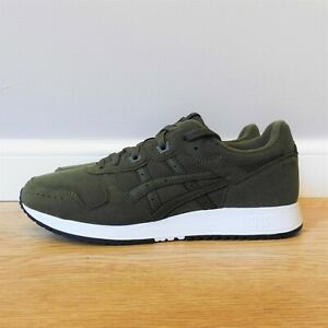Asics Lyte Classic Suede Smog Green Trainers Size 9 UK 10 US 44 EU