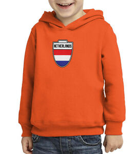 Netherlands- Country Soccer Crest Futbol World Cup Toddler/Youth Hood