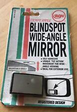 Ron Cockpit  Wide Angle Blind Spot Convex Rear View Mirror Unique Tilt Action