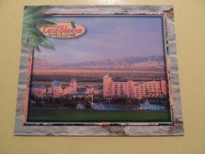 Casablanca Casino Hotel Mesquite Nevada vintage oversized postcard aerial view