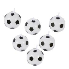 Cake Party Supply Topper Candle Soccer Ball Holder Birthday Decoranting Sports