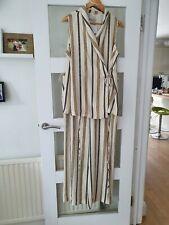 Per Una 2 Piece Striped Summer Trouser Suit