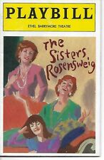 Playbill The Sisters Rosensweig Ethel Barrymore Theatre