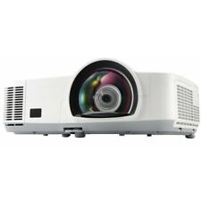 M260XS NEC HOME CINEMA HDMI SHORT THROW PROJECTOR NEW LAMP INSTALLED
